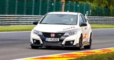 Cinq nouveaux records du tour pour la Honda Civic Type R