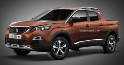 Le nouveau Peugeot 3008 imaginé en pick-up