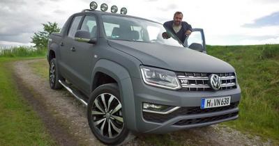 Volkswagen Amarok V6 TDI restylé: Pick-up, sauce SUV