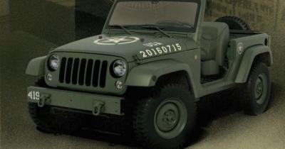 Le Wrangler enfile un treillis pour fêter les 75 ans de la Jeep