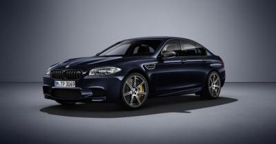 BMW M5 Competition Edition : 600 ch et seulement 200 exemplaires