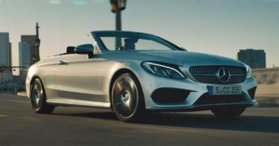 Mercedes nous fait redécouvrir le monde avec la Classe C Cabriolet