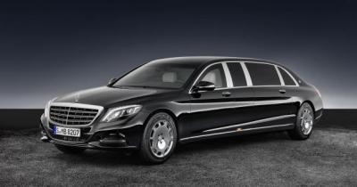 Mercedes-Maybach S 600 Pullman Guard : pour les très gros calibres