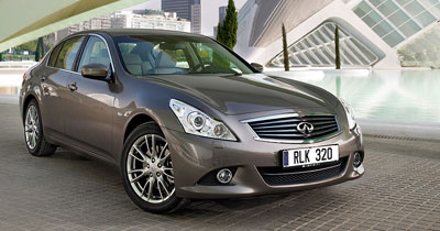 Infiniti G37 restylée : timides retouches