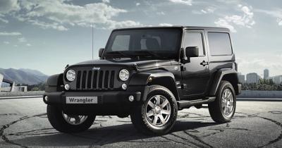 Série Platinium Edition pour le Jeep Wrangler
