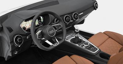 La planche de bord de la nouvelle Audi TT révélée au CES