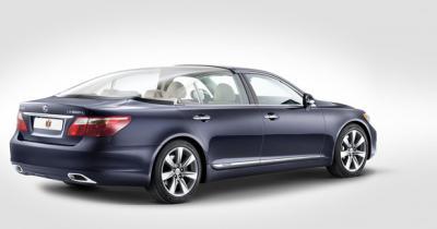 Landaulet Lexus LS 600h L : Une Lexus royale pour le mariage princier