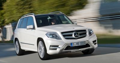 Mercedes GLK restylé : Le GLK arrondit les angles