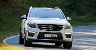 Mercedes ML 63 AMG 2012 : Force tranquille