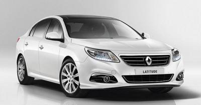 Fuite d'images de la Renault Latitude restylée