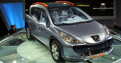 Peugeot  - 207 SW Outdoor: un break qui arrondit les angles