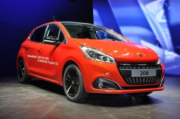 Peugeot 208 restylée: du nouveau sous le capot