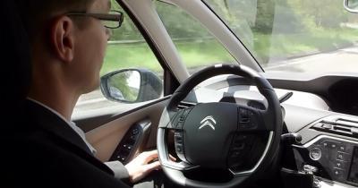 La voiture autonome de PSA en vidéo