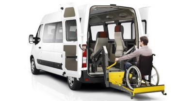 Renault Master : aussi pour personnes à mobilité réduite