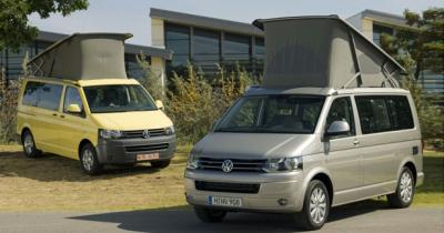 Volkswagen California : la version restylée au salon du Bourget