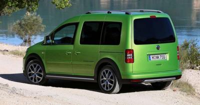 Volkswagen a présenté le Cross Caddy au Salon d'Hanovre