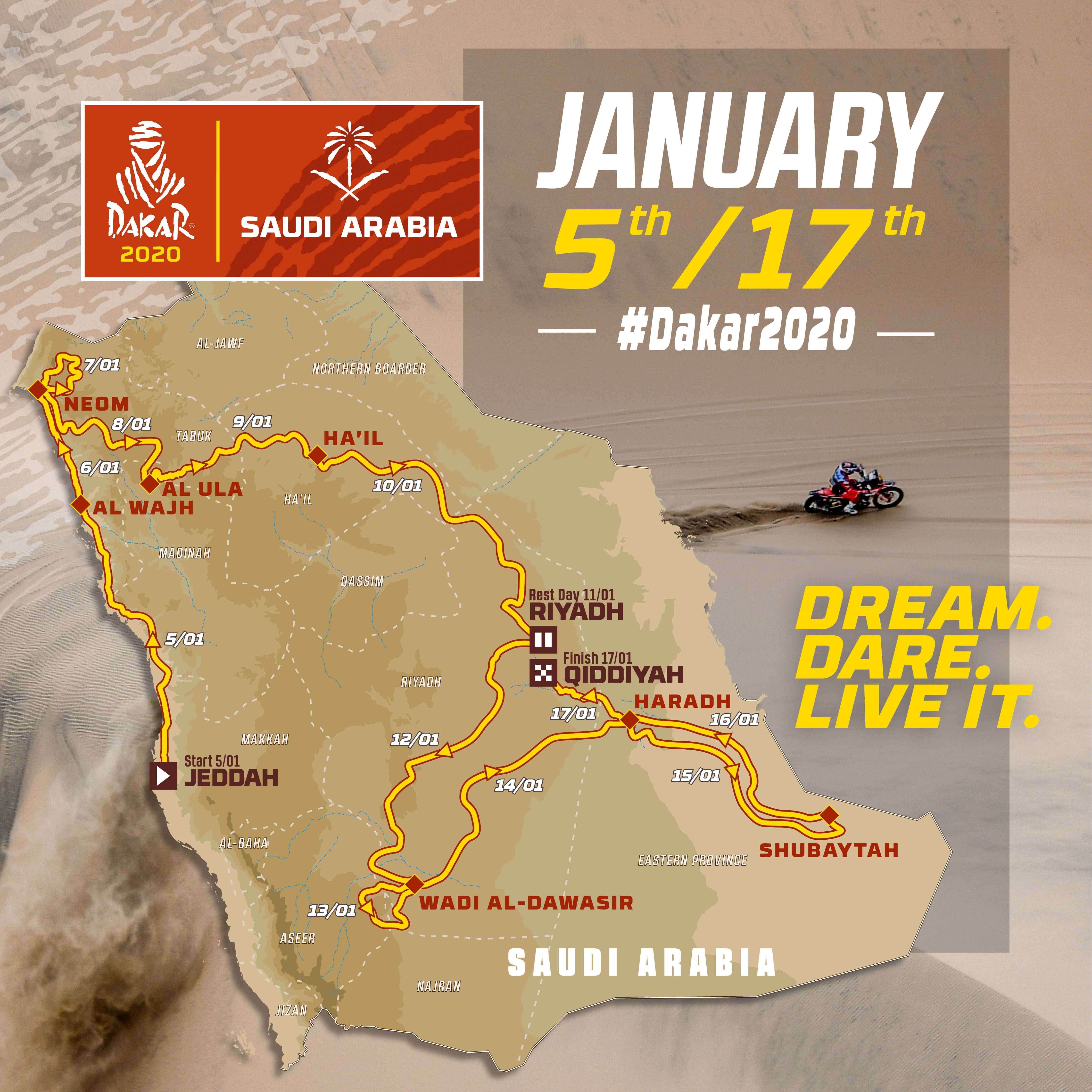Le Dakar au royaume de la répression — Arabie saoudite