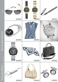 Mercedes lance sa collection automne for Mercedes benz lifestyle accessories