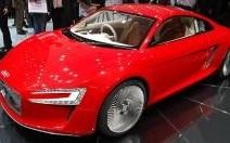 Audi e-Tron : les anneaux dans la prise