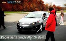 La Chevrolet Volt sort du silence pour les malvoyants