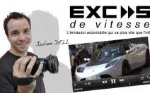 Tesla Roadster S : au volant du roadster le plus survolté !