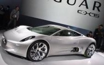 Jaguar C-X75, coupé hybride high-tech