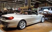 La BMW Série 6 Cabriolet joue de ses charmes à Paris