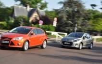 Comparatif Ford Focus 1.6 TDCi 115 ch / Peugeot 308 1.6 e-HDi 112 ch : leçon d'agrément