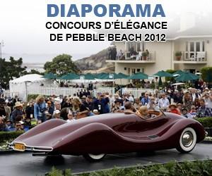 Concours d'élégance de Pebble Beach 2012