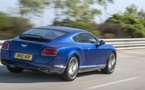 Bentley Continental GT Speed : elle s'exhibe
