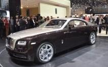 Rolls Royce Wraith : esprit sportif