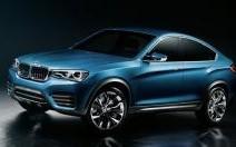 BMW X4 Concept : BMW a rétréci le X6