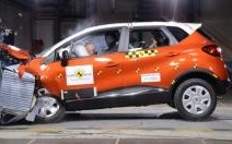 Renault Captur : demi-succès au crash-test EuroNCAP