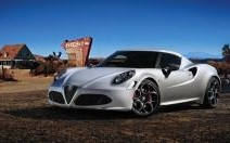 Alfa Romeo 4C : Top départ à Goodwood