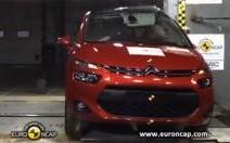 Citroën C4 Picasso : brio à l'EuroNCAP