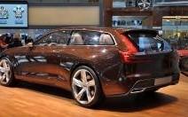 Volvo Estate Concept : réminiscence de P1800 ES (vidéo)