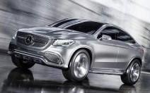 Mercedes Concept Coupé SUV : Le coupé haut perché version Stuttgart