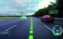 Jaguar travaille sur la création d'un pare-brise virtuel