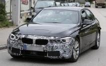 BMW Série 3 restylée : le spyshot qui confirme