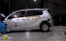 Crash-test EuroNCAP : 5 étoiles pour la Toyota Verso