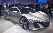 Acura NSX Concept : Friandise hybride