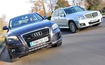 Comparatif Audi Q5 3.0 TDI / Mercedes GLK 320 CDI : Prime à la classe
