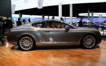 Bentley Continental GT Speed : 326 km/h dans un salon