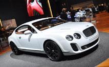 Bentley Continental Supersports : sportive au sang vert