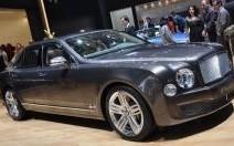 Du nouveau à l'intérieur de la Bentley Mulsanne