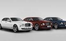 Nouveauté : Bentley Mulsanne 95e anniversaire