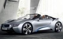 BMW i8 Spyder Concept : électron libre