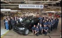 BMW X5 : un million d'unités produites
