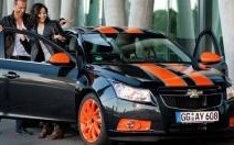 Chevrolet Cruze Bumblebee : fausse Transformers