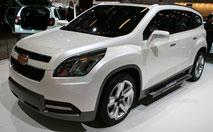 Orlando Concept : un futur crossover 7 places Chevrolet ?